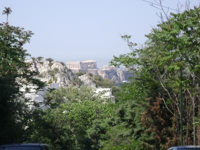 La primera visita a Atenas