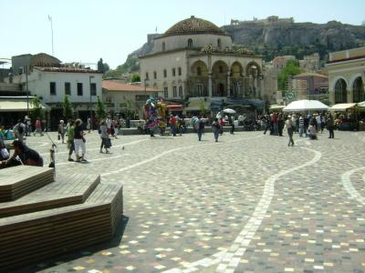 La plaza de Monastiraki