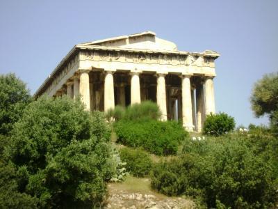 El templo de Hefesto