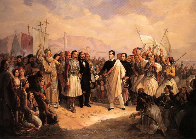 Lord Byron en Missolonghi